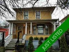 Strathcona House/Single Family for sale:  3 bedroom 2,007 sq.ft. (Listed 2020-10-09)